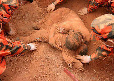 Mother's sacrifice for child