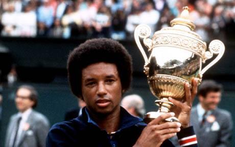 Wimbledon Champion 1975 - Arthur Ashe