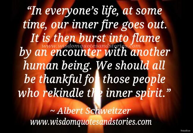 rekindle the inner spirit wisdom quotes stories