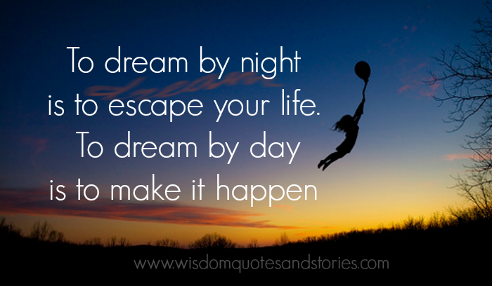 what are your dreams in life essay