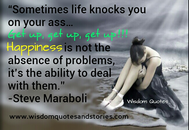 When Life Knocks You Down Quotes Life Knocks you down   Wisdom Quotes & Stories When Life Knocks You Down Quotes