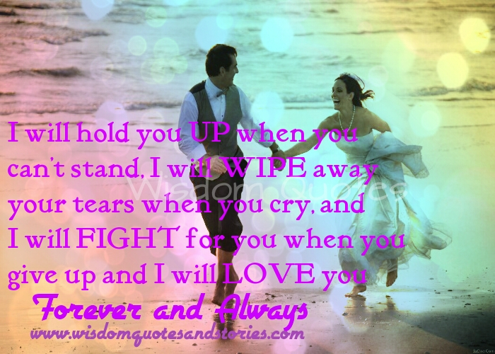 Quotes About Love U Forever : Love You Forever And Always Quotes. QuotesGram