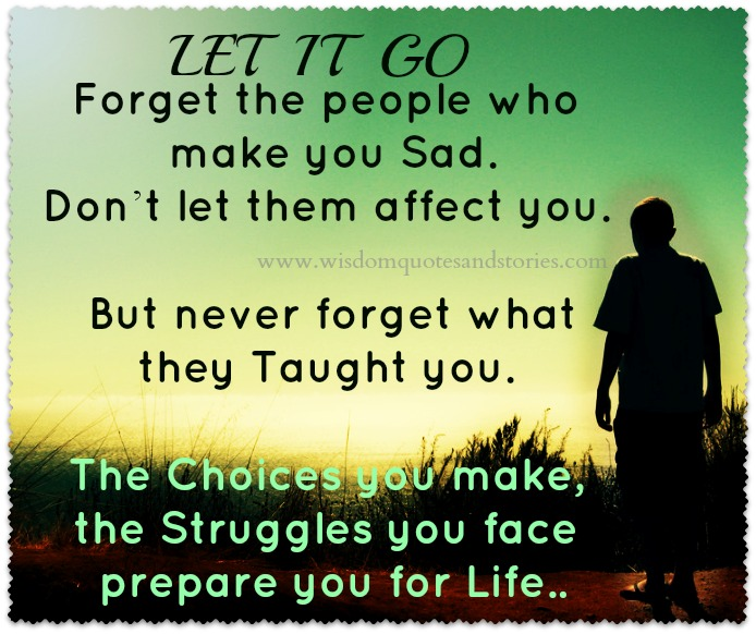 Wisdom About Life Quotes Awesome Let It Go  Wisdom Quotes & Stories