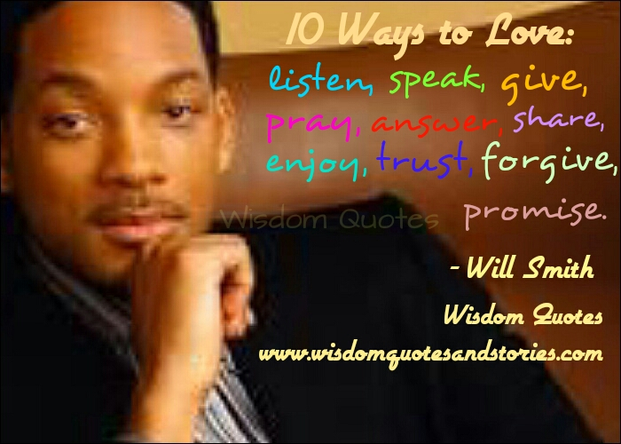10 ways to love  - Wisdom Quotes and Stories