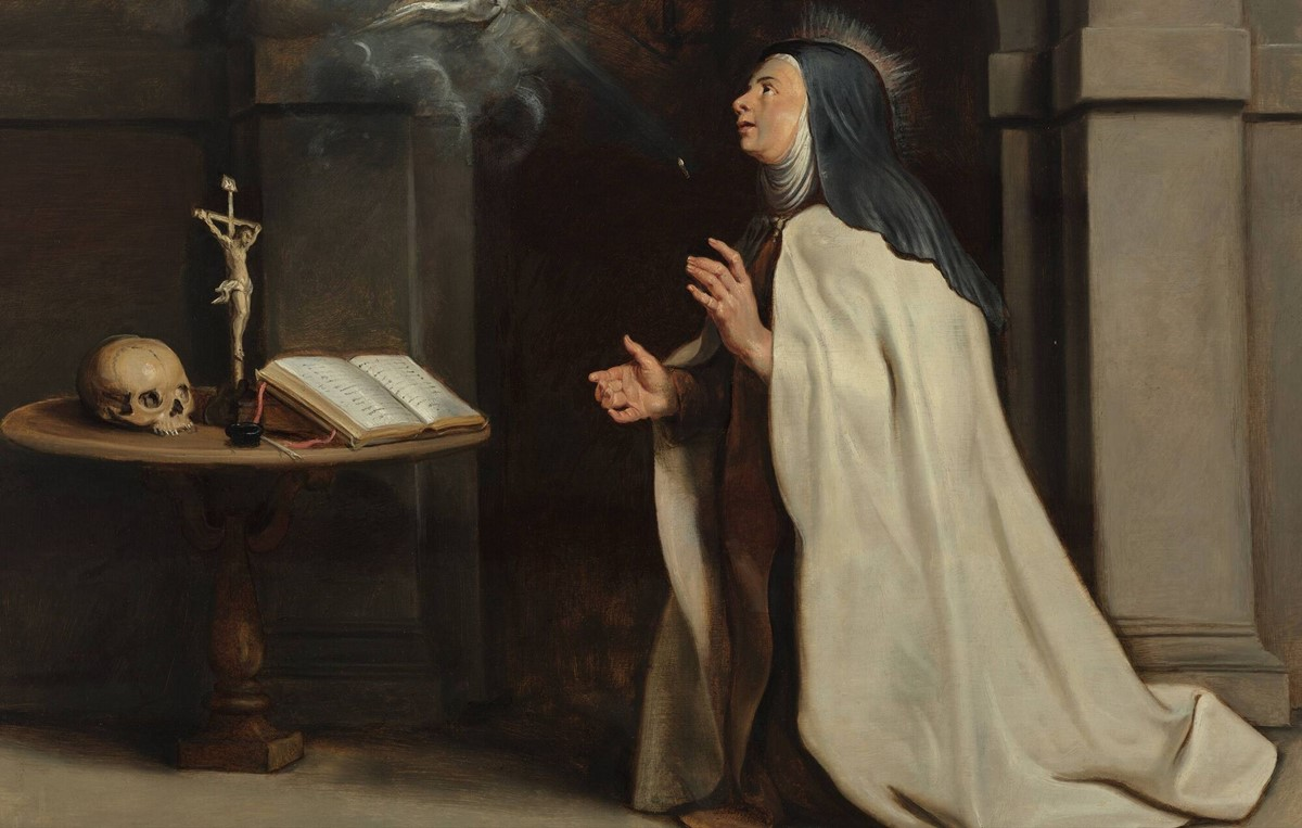 Saint Teresa of Avila, the 16th century Spanish mystic