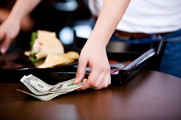 The Waitress' Tip